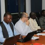 Participants at the poverty measurement and analsys course