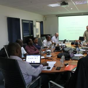 During the training course