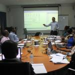 During the training course with the instructor Manuel Hernandez